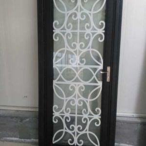 Кованые двери Межкомнатная кованая дверь Арт. Д-004 Norkovka